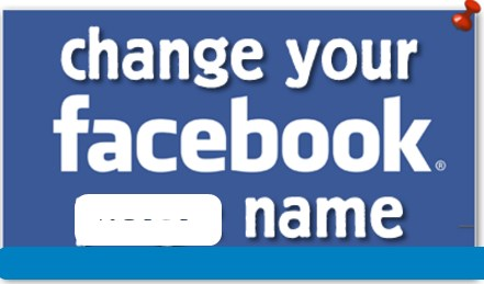 How to change name facebook