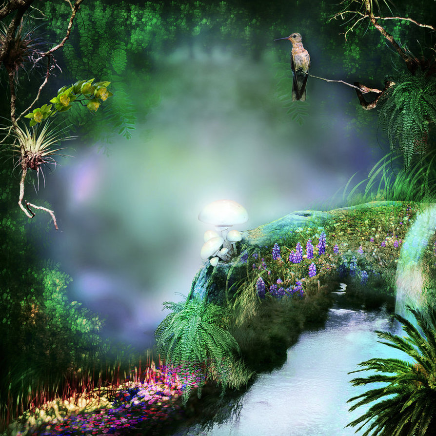 Fantasy background photoshop