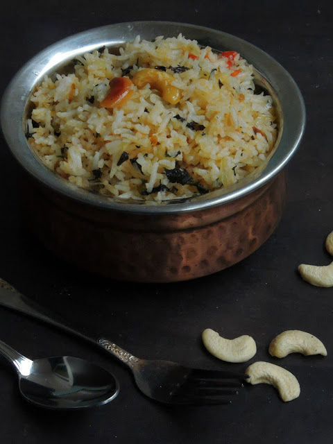 Andhra Pudhina Annam, Gluten Free Mint Rice