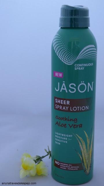 jason locion spray aloe vera