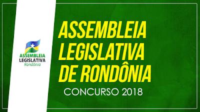 Concurso da Ale - RO 2018 - Apostila e Edital