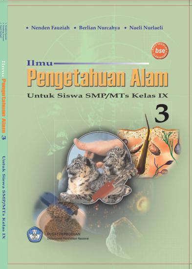 Download Buku Siswa KTSP SMP dan MTs Kelas 9 Ilmu Pengetahuan Alam 3