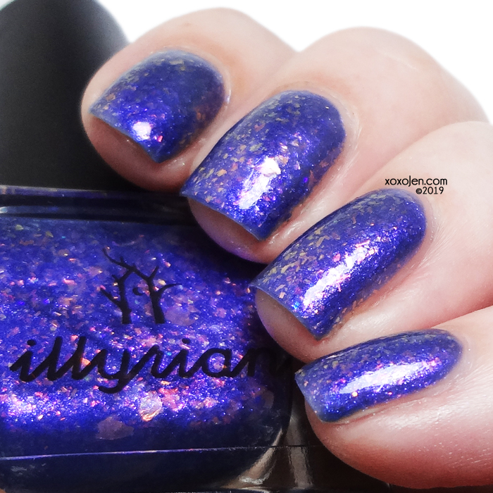 xoxoJen's swatch of Illyrian Earth Air Fire Water