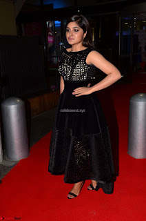 Niveda Thomas Black Sleeveless Cute Dress at 64th Jio Filmfare Awards South 2017 ~  Exclusive 044.JPG