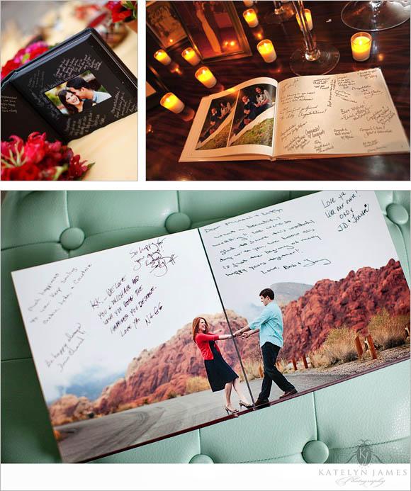 Foto prewedding dalam buku tamu bikin ceria
