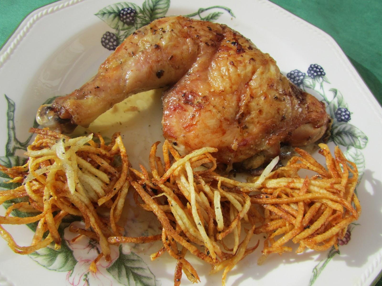 Pollo asado tradicional (de mi madre)