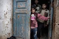 children caught in conflict in Syria