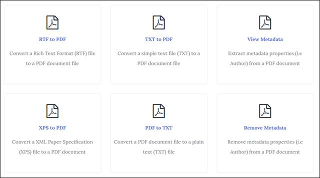 أفضل أداة للتعامل مع ملفات PDF عبر الإنترنت اونلاين بدون برامج Screenshot_5