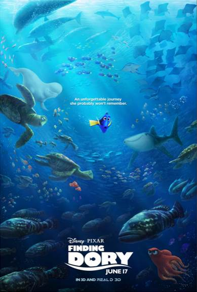 Disney/Pixar Finding Dory Poster