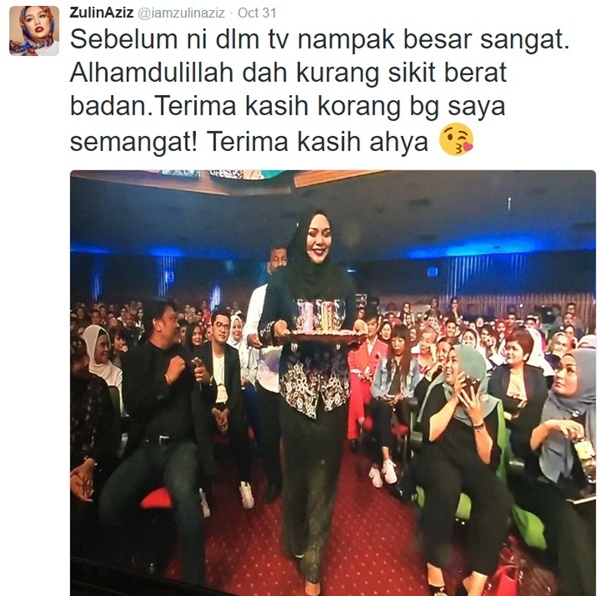 Zulin Aziz KONGSI Rahsia Tampil Kurus Hanya Dalam Masa Sebulan Setengah MENGEJUTKAN!!
