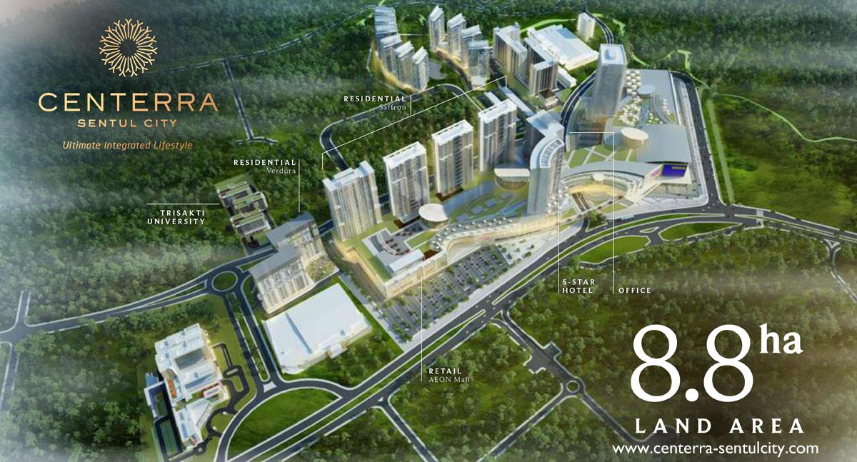Centerra Sentul City Superblock South Jakarta