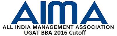 UGAT BBA 2016 Cutoff