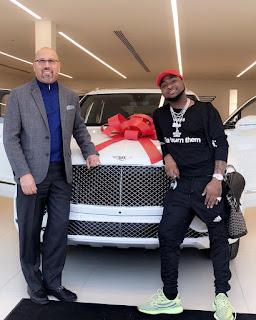 Davido buys New Bentley in Atlanta