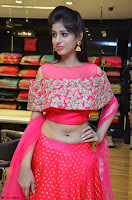 Naziya Khan bfabulous in Pink ghagra Choli at Splurge   Divalicious curtain raiser ~ Exclusive Celebrities Galleries 018.JPG