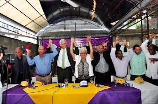Regidora Mercedes Paulino y varios dirigentes del PRM respaldan aspiraciones a la alcaldía de Nelson Guillén