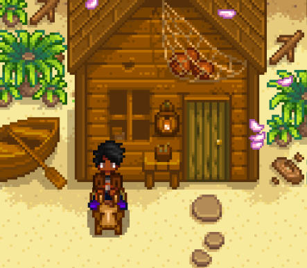 How to build cabin stardew valley