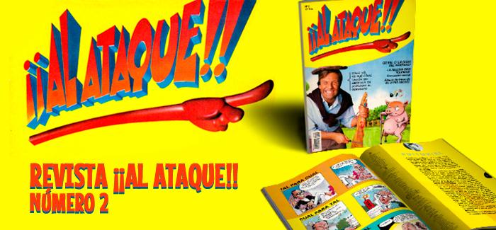 Revista ¡¡Al Ataque!! Nº 2