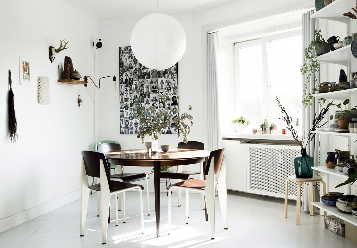 Design attractor: serene scandinavian apartment with a touch of nature