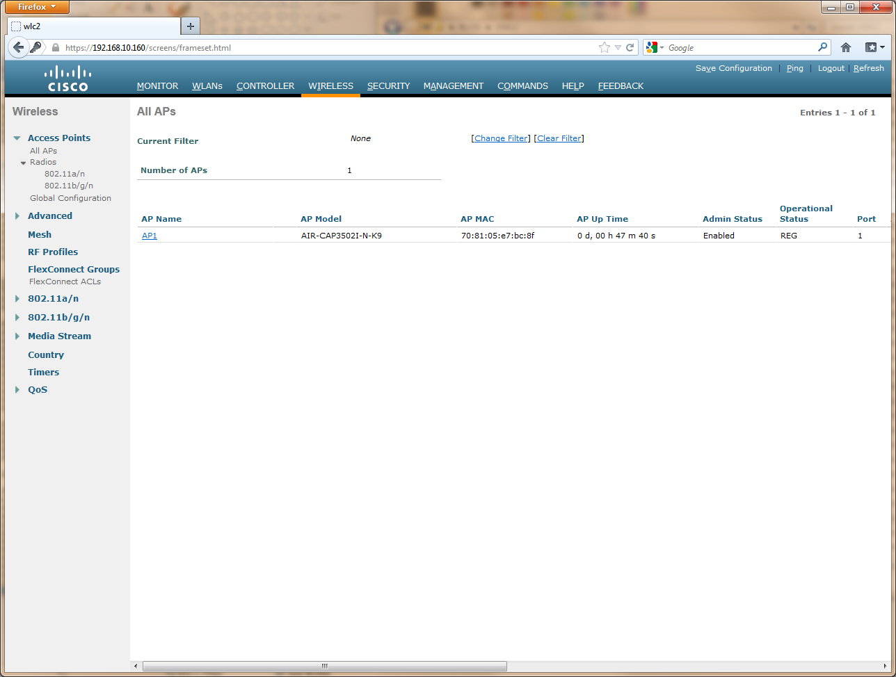 Electronically Stored: Cisco Virtual Wireless LAN Controller