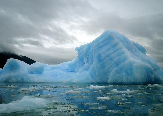 Chile glacier