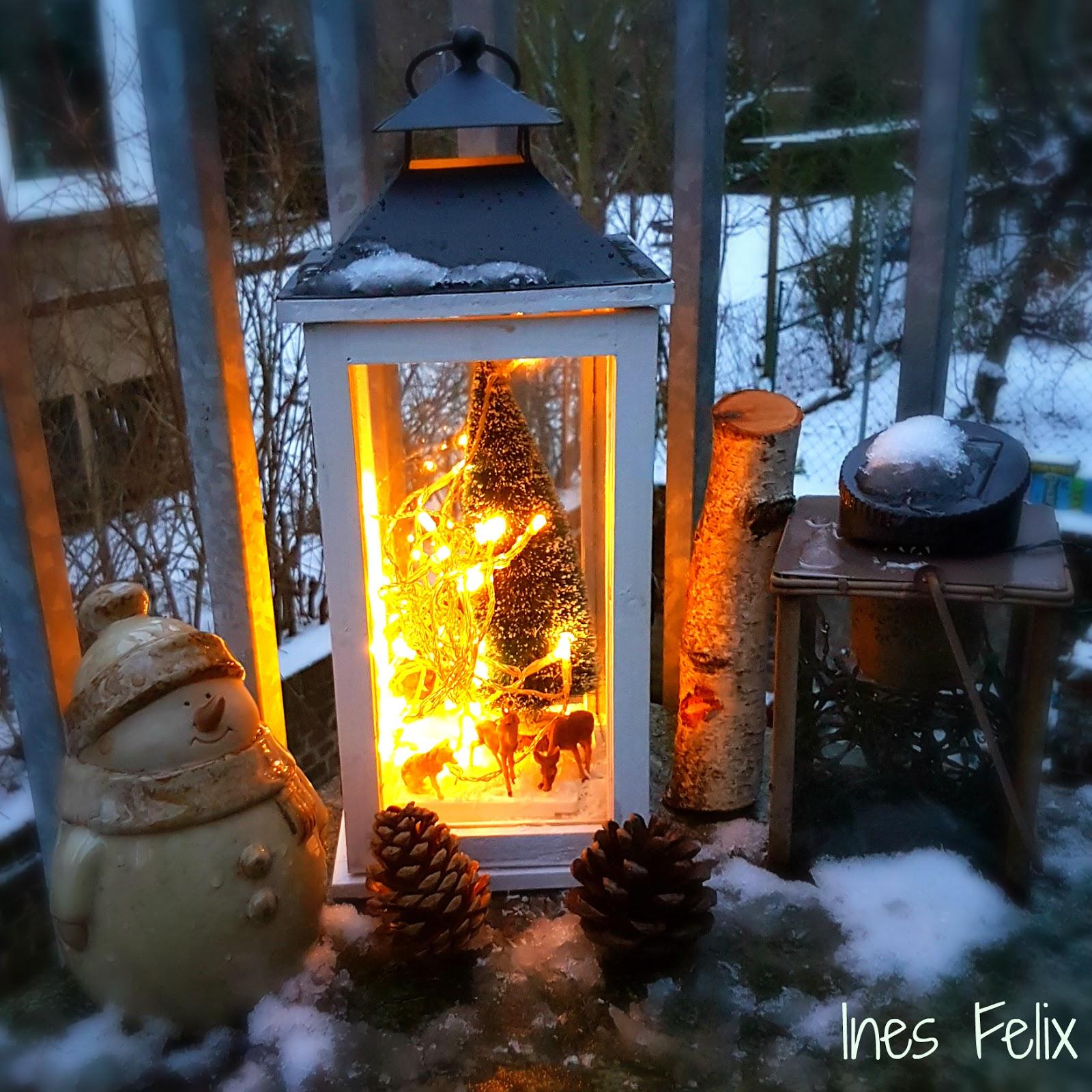 Ines felix kreatives zum nachmachen winterdeko f r - Winterdeko garten ...