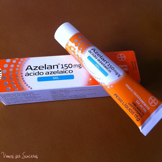 Resenha: Azelan - Ácido Azelaico para tratamento da acne e das manchas