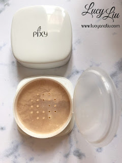 PIXY UV Whitening Loose Powder shade natural beige
