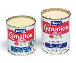 Susu kental manis dan susu evaporasi