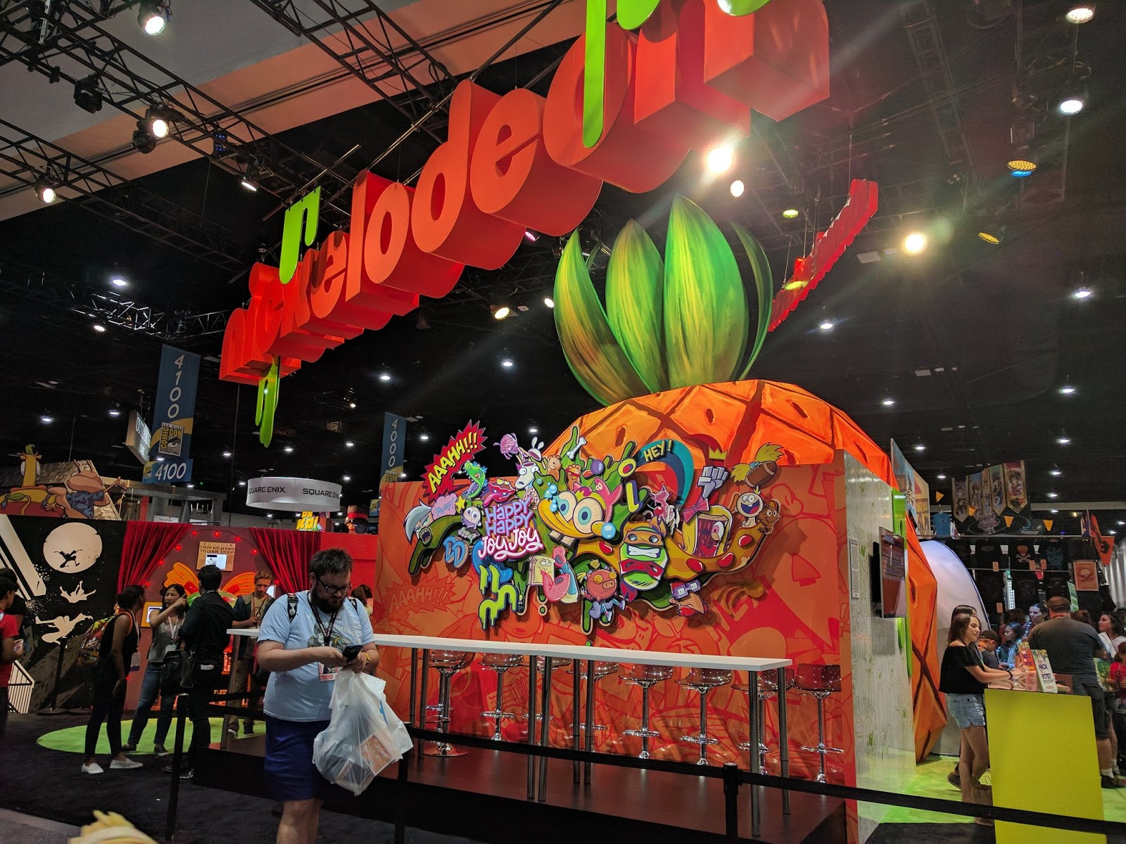 Nickalive Nickelodeon At Comic Con International San