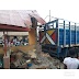 Photos &full details of what happen: Truck carrying APC-branded bags of rice crushes dozens to death in Ekiti
