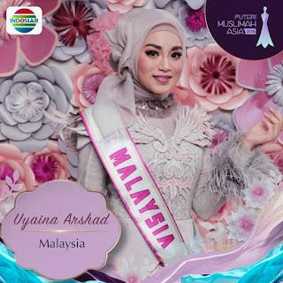 Uyaina Arshad Juara Puteri Muslimah Asia 2018