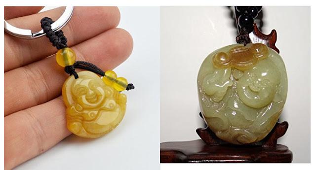 decorative jade Buddha