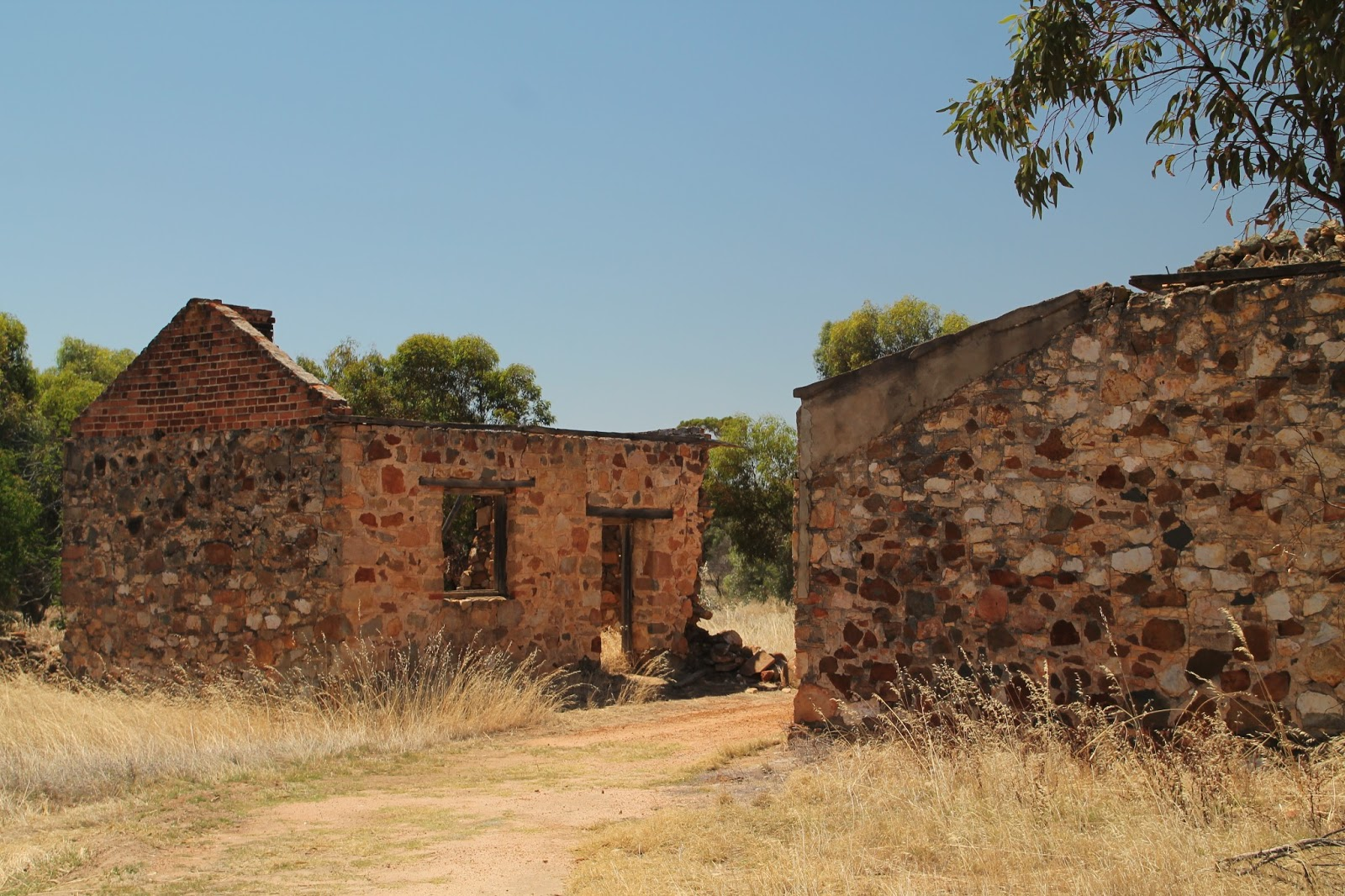 Ruins around Western Australia
