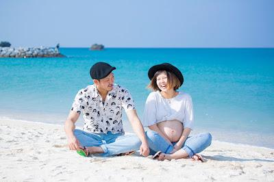 マタニティフォト沖縄 海