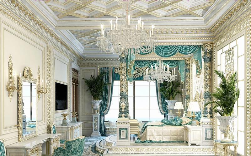 10 mẫu phòng ngủ phong cách Royal sang trọng và đẳng cấp nhất10