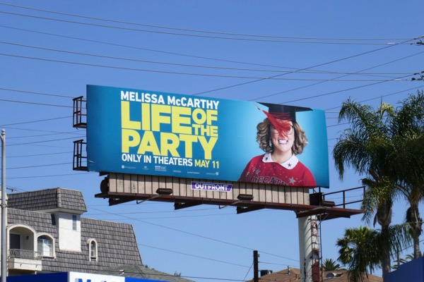 Life of the Party movie billboard