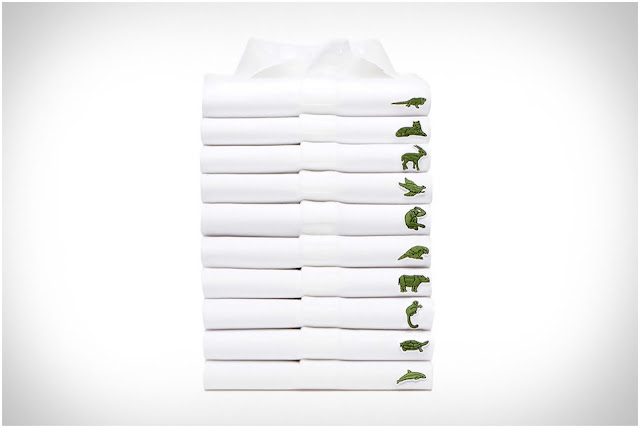 Lacoste x International Union for Conservation of Nature's Save Our Species polo