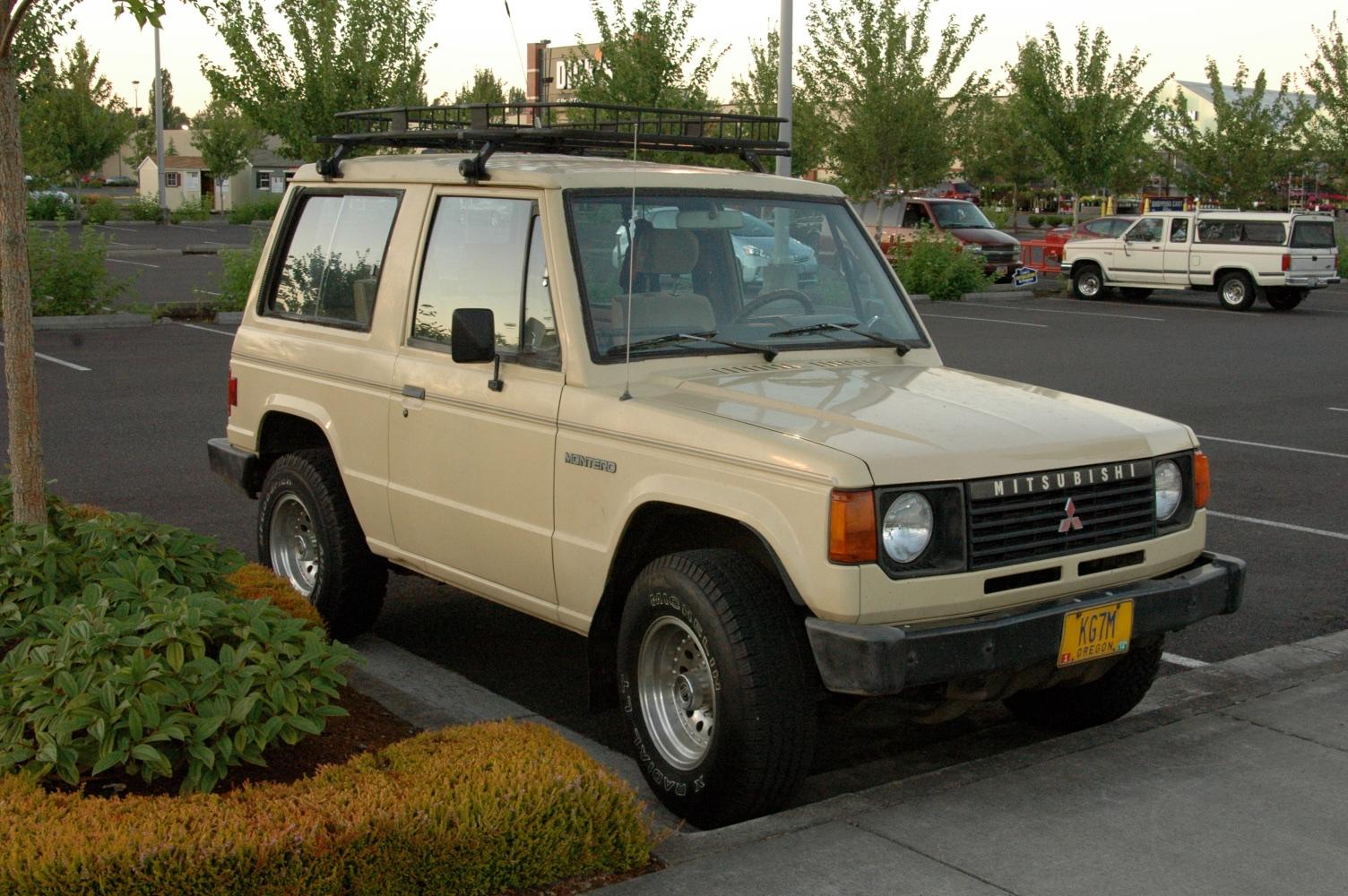 Old Parked Cars 1983 Mitsubishi Montero