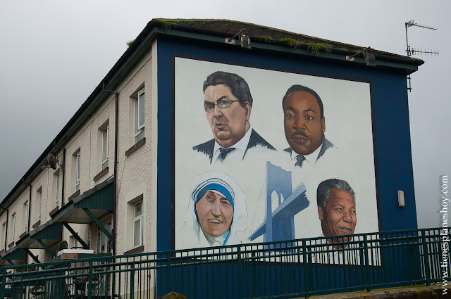 Murales Derry Irlanda del Norte
