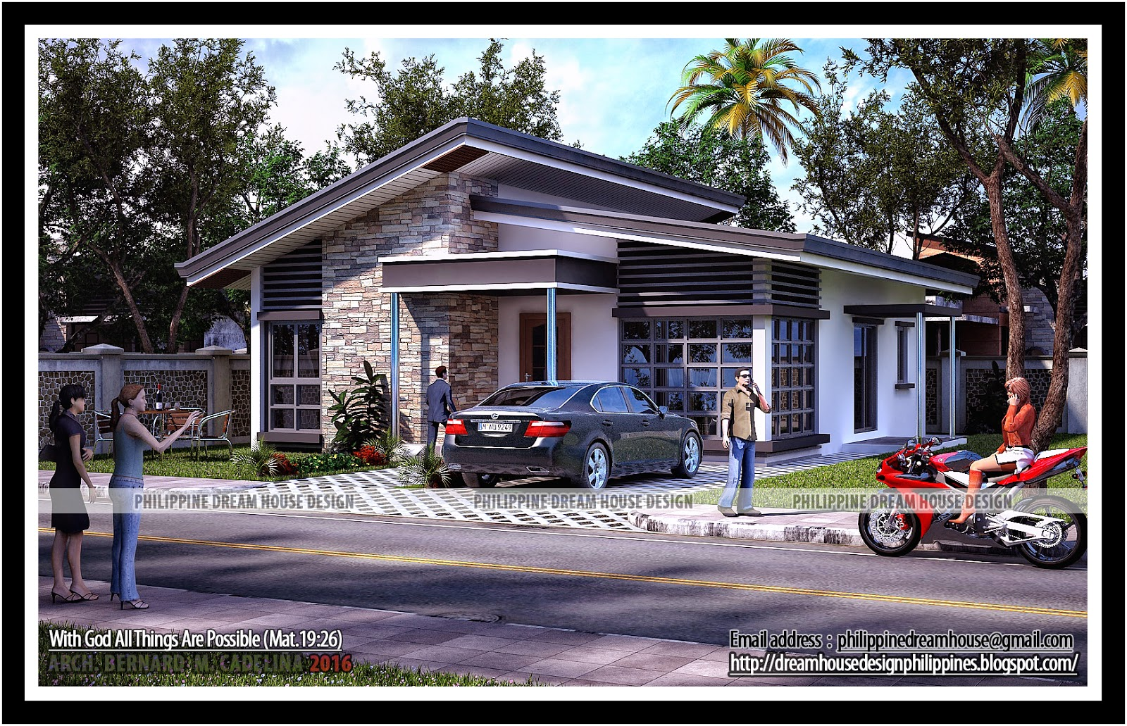 Philippine dream house design for Bungalow house plans philippines