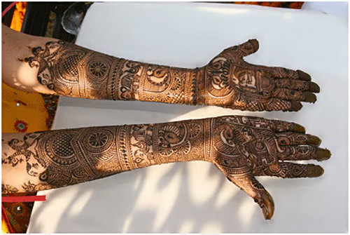 Bridal Mehandi Designs For Hands