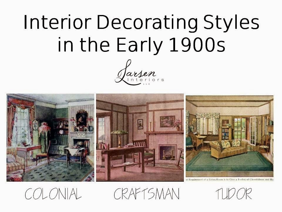 The philosophy of interior design early 1900s part 3 for 1900 architecture houses