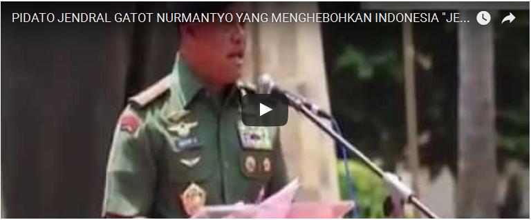 Pesan Jenderal Gatot: Jangan Jadi Pengkhianat Bangsa Jika Tak Ingin Dihukum Allah Dunia Akhirat