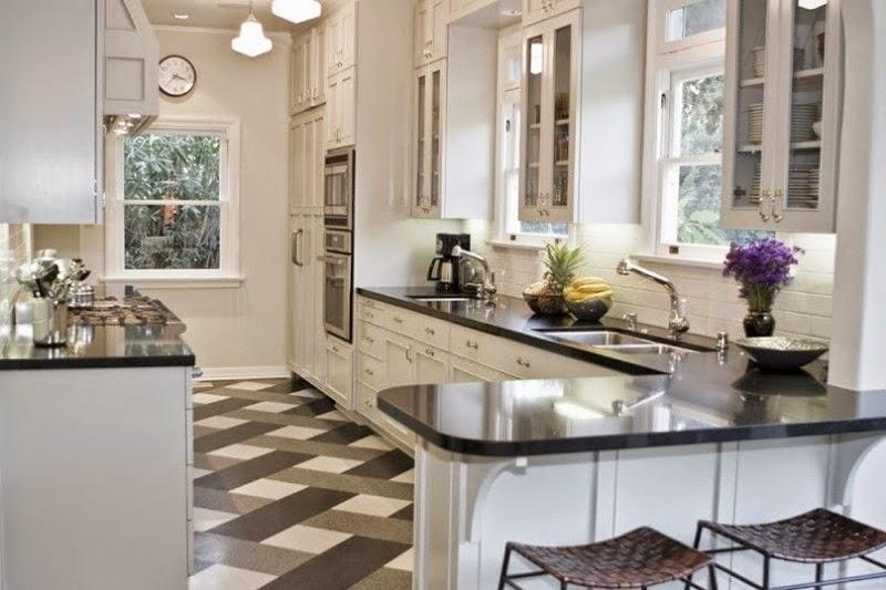 Model Motif Keramik Lantai Dapur Dan Dinding