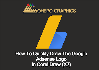How To Quickly Draw The Google Adsense Logo In Corel Draw X7