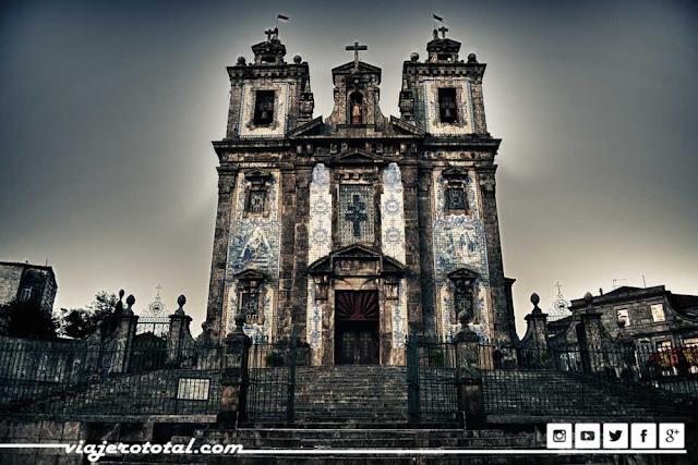 Oporto - Portugal - Iglesia de San Ildefonso