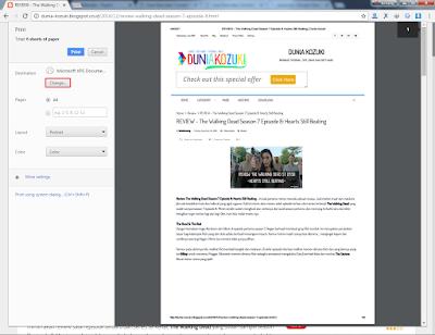Cara Menyimpan Halaman Web Dalam Bentuk PDF