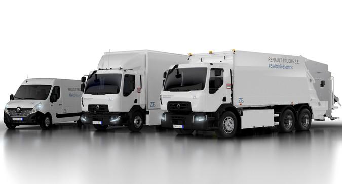 Renault Trucks apresentará linha completa de caminhões elétricos no IAA 2018