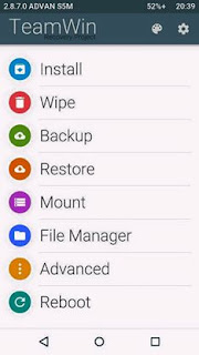 TWRP MATERIAL DESIGN FOR ADVAN S5M