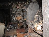 (ФОТО)Пожар в селе Курьи
